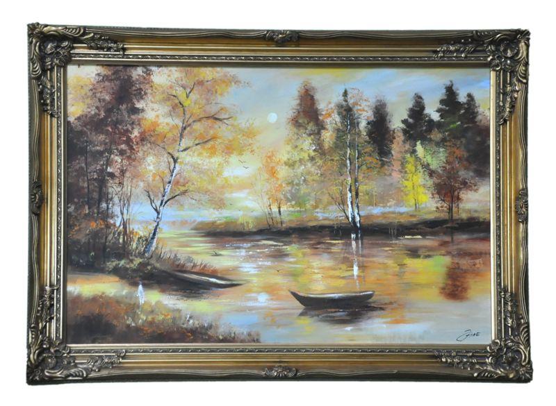 Obraz, Nad jezerem BGO24