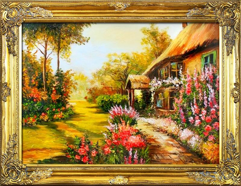 Obraz, zahrada B01672