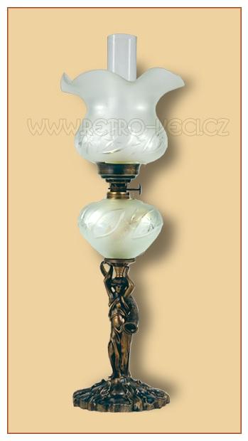 Petrolejová lampa 52FO