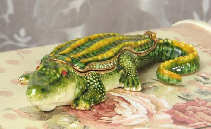 Šperkovnička krokodýl CCL25