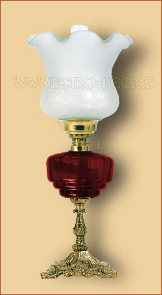 Petrolejová/elektrická lampa 19-1