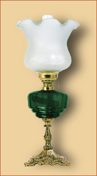 Petrolejová/elektrická lampa 19-2