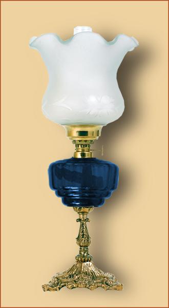Petrolejová/elektrická lampa 19-3