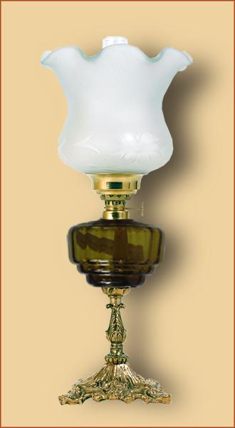 Petrolejová/elektrická lampa 19-4