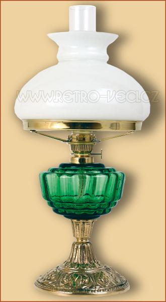 Petrolejová/elektrická lampa 24GP