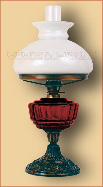 Petrolejová/elektrická lampa 24RO